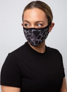 animal print μάσκα προσώπου