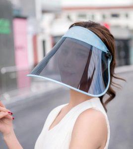 γυναικείο προστατευτικό προσώπου ήλιο